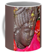 Statue At The Vishwanath Temple - India Coffee Mug