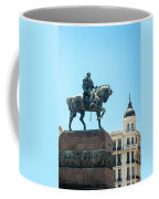 Statue In Montevideo Uruguay Coffee Mug