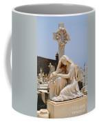Statue Mourning Woman Coffee Mug