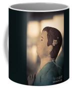 Statue Of A Boy Praying Coffee Mug
