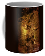 Statue Of Angel Coffee Mug by Amanda Elwell