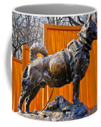 Statue Of Balto In Nyc Central Park Coffee Mug by Anthony Sacco