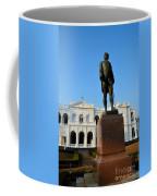 Statue Of Gregory Outside National Museum Colombo Sri Lanka Coffee Mug