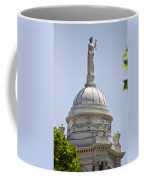 Statue Of Justice On Top Of New York City Hall Coffee Mug