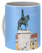 Statue Of King Jose I In Lisbon Coffee Mug