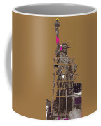 Statue Of Liberty Being Built 1876-1881 Paris Collage Pierre Petit                     Coffee Mug