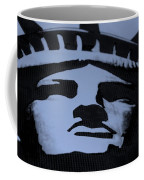 Statue Of Liberty In Dark Cyan Coffee Mug