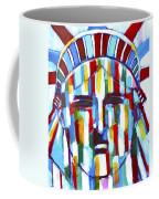 Statue Of Liberty With Colors Coffee Mug