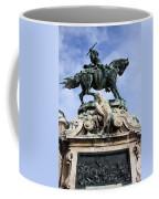 Statue Of Prince Eugene Of Savoy In Budapest Coffee Mug