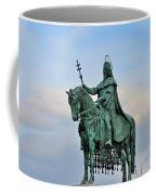 Statue Of St Stephen Hungary King Coffee Mug