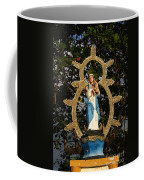 statue of the Virgin Mary in Granada Nicaragua Coffee Mug