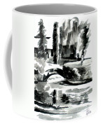 Ste Marie Du Lac Pond And Parish Coffee Mug