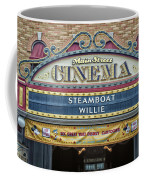 Steam Boat Willie Signage Main Street Disneyland 01 Coffee Mug