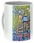 Steam Clock In Vancouver Gastown Coffee Mug