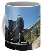 Steam Engine 489 At The Watering At Sublette Station On The Cumbres And Toltec Rr Coffee Mug