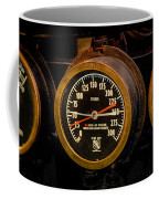 Steam Engine Gauge Coffee Mug