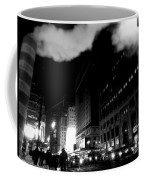 Steam Heat - New York At Night Coffee Mug