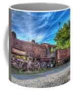 Steam Locomotive No 1151 Norfolk And Western Class M2c Coffee Mug