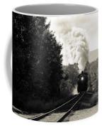 Steam On The Rails Coffee Mug