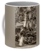Steam Power Sepia Coffee Mug