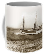 steam-schooner Elizabeth circa 1914 Coffee Mug
