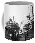 Steamboat Landing, 1906 Coffee Mug