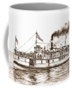 Steamboat Reliance Sepia Coffee Mug