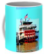 Steamer Natchez Paddleboat Coffee Mug