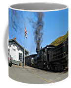Steaming Away Coffee Mug