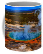 Steaming Rainbow Coffee Mug