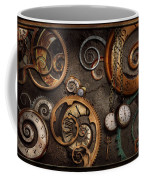 Steampunk - Abstract - Time Is Complicated Coffee Mug by Mike Savad