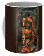 Steampunk - Alphabet - B Is For Belts Coffee Mug