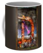 Steampunk - Alphabet - D Is For Death Ray Coffee Mug