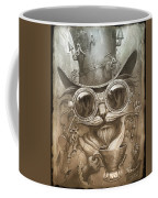 Steampunk Cat Coffee Mug
