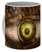 Steampunk - Creepy - Eye On Technology  Coffee Mug