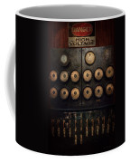 Steampunk - Electrical - Center Of Power Coffee Mug by Mike Savad