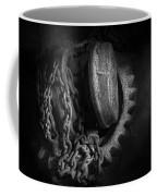 Steampunk - Gear - Hoist And Chain Coffee Mug by Mike Savad