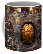 Steampunk - Information Overload Coffee Mug by Mike Savad