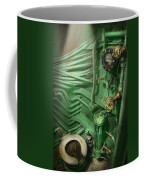 Steampunk - Naval - Plumbing - The Head Coffee Mug by Mike Savad