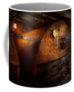 Steampunk - Plumbing - The Home Of A Stoker  Coffee Mug by Mike Savad