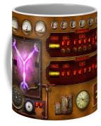 Steampunk - Temporal Flux Coffee Mug by Mike Savad