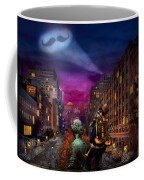 Steampunk - The Great Mustachio Coffee Mug by Mike Savad