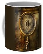 Steampunk - The Pressure Gauge Coffee Mug by Mike Savad