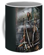 Steampunk - The Steam Engine Coffee Mug by Mike Savad