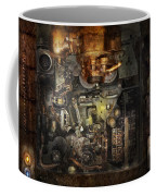Steampunk - The Turret Computer  Coffee Mug by Mike Savad
