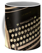 Steampunk - Typewriter - The Age Of Industry Coffee Mug by Paul Ward