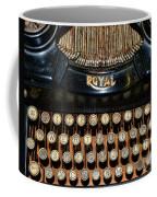 Steampunk - Typewriter -the Royal Coffee Mug by Paul Ward