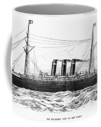 Steamship - City Of New York Coffee Mug