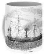 Steamship, 1853 Coffee Mug