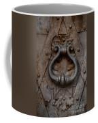Steel Decorated Doorknob Coffee Mug